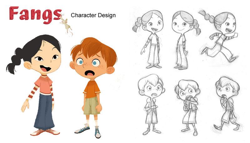 Character Design For Children S Books : Gurihiru children s book illustrations