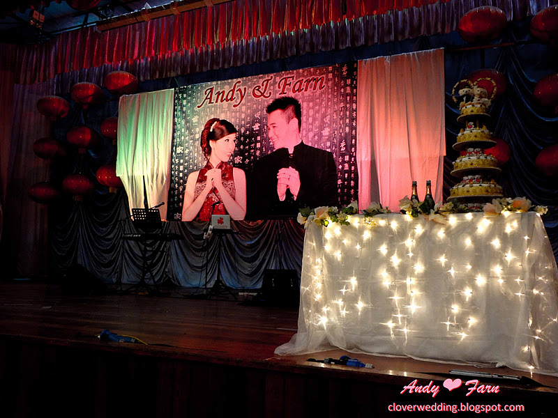 Andy Tan Farn Tan 39s wedding dinner SJK C Pandamaran A Klang