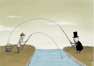 pesca furtiva Imagenes de dibujos graciosos