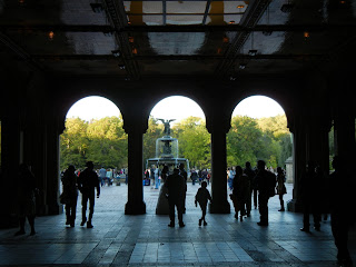 Under the Bethesda Terrace in Central Park
