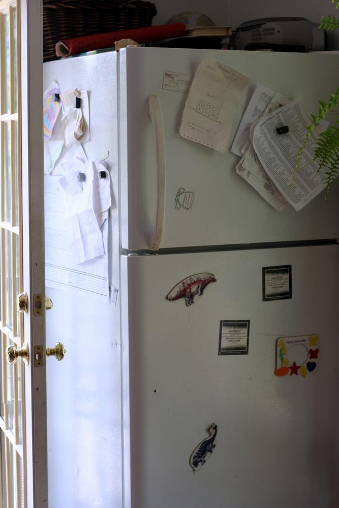how to get dents out of fridge door