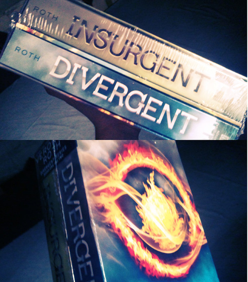 Divergent book set by Veronica Roth