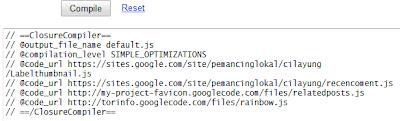 menggabungkan javascript agar loading lebih cepat gambar 2