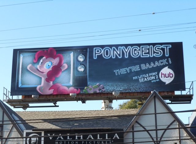 Ponygeist My Little Pony billboard