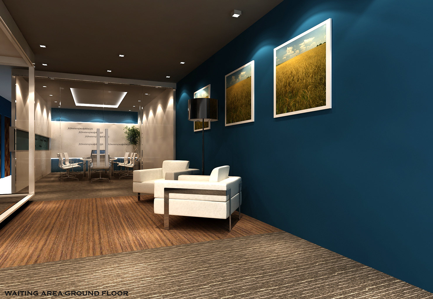 create in your dream home: 3D Office Design