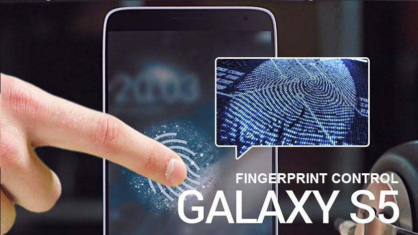 Samsung launches its flagship smartphone the Galaxy S5 with fingerprint scanner