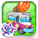 Ice Cream Truck Icon Logo