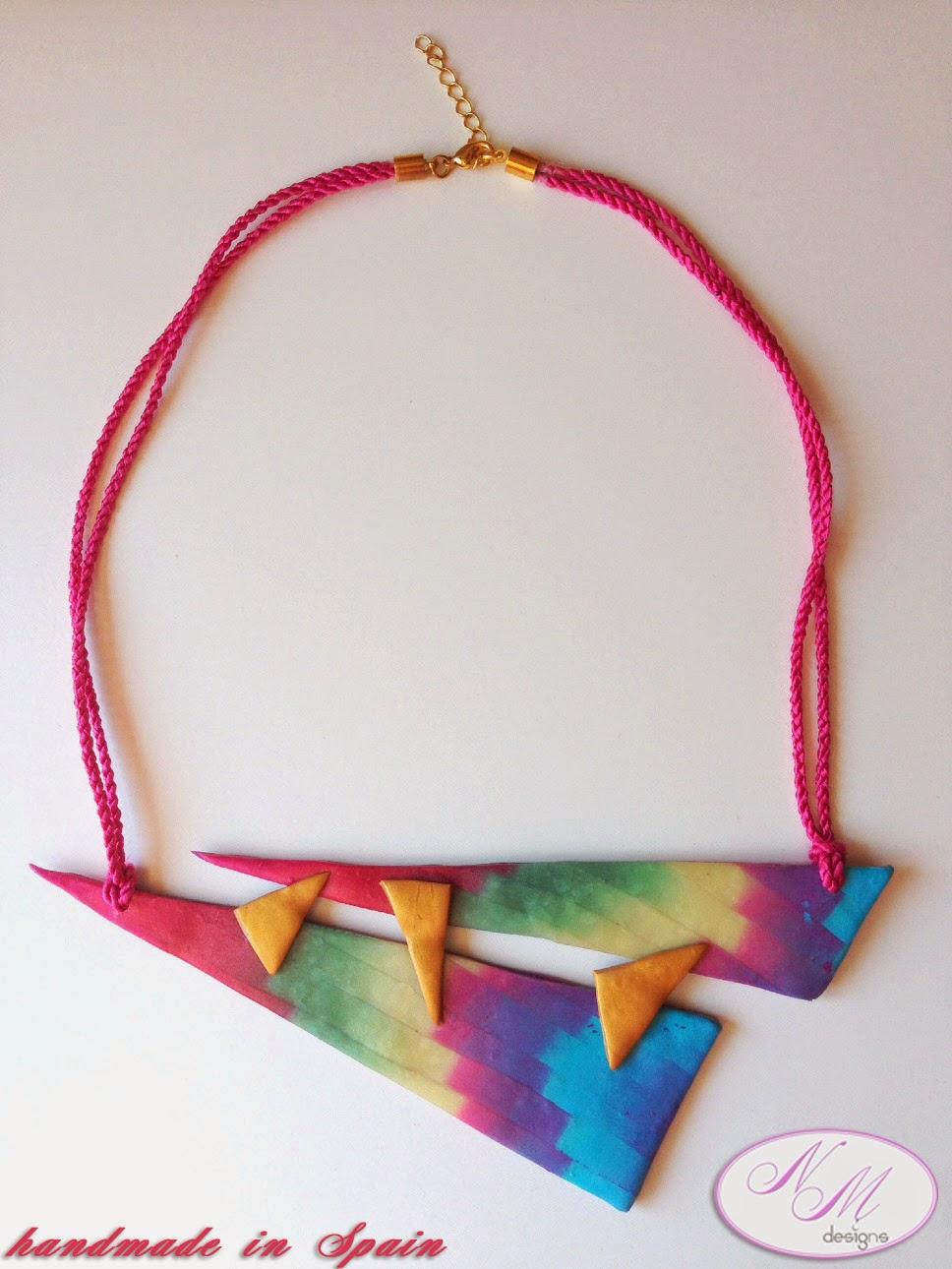 Collar Fusión Azteca, NM Designs