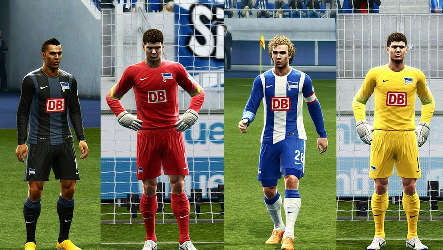 PES 2013 Hertha Berlin 14-15 GDB Update by Vulcanzero