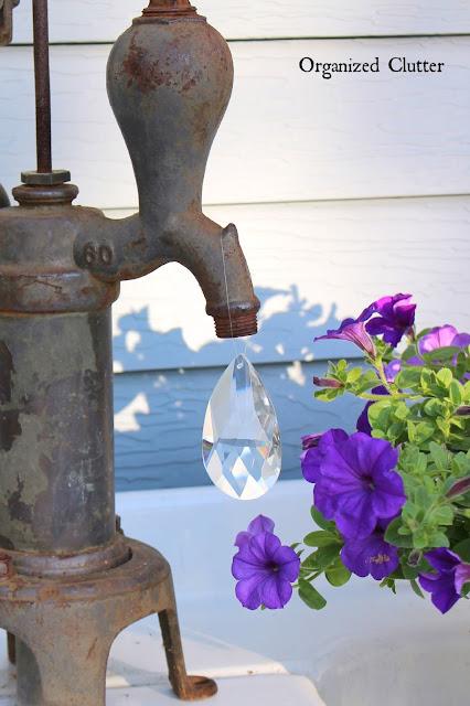 Pump & Water Drop Prism wwworganizedclutter.net