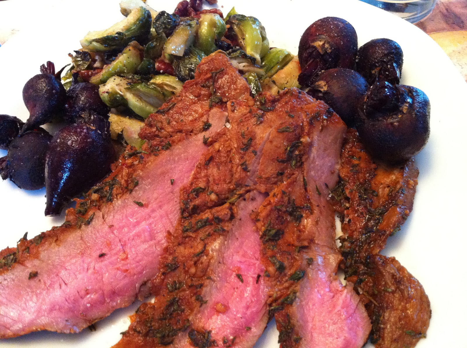 Argentinian Spice Rubbed Flank Steak