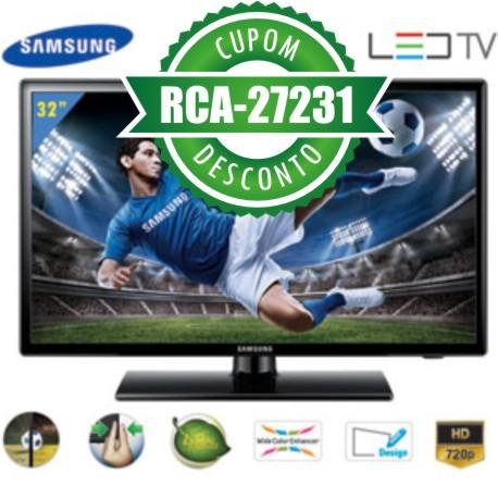 Cupom Efácil - TV 32 LED Samsung UN32EH4000