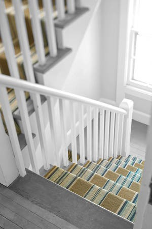 House of marlowe interiors striped stair runners for Dash and albert runners