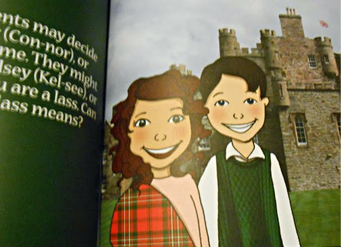 If You Were Me and Lived in Scotland girl and boy picture