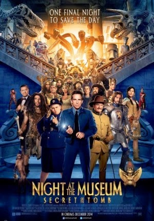 Film Night at The Museum: Secret of The Tomb 2014 Bioskop