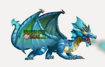 Dragão Água-Marinha