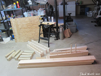 Wood Bed Pine Parts Materials