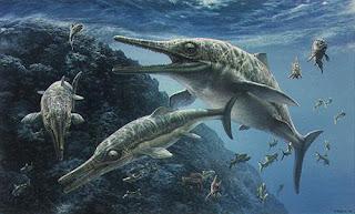 Ichthyosaurus - Binatang Purbakala