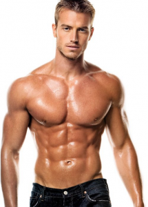 how to get a body like a male model