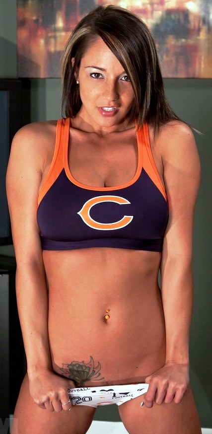 Beauty Babes 2013 Chicago Bears Nfl Season Sexy Babe