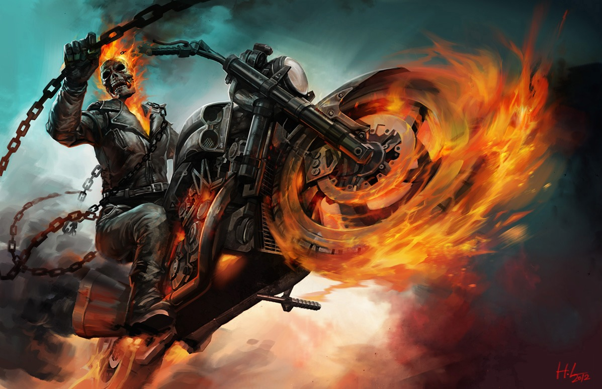 opromone: ghost rider spirit of vengeance wallpapers