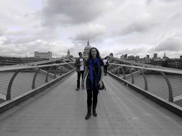 Millennium Bridge London Harry Potter