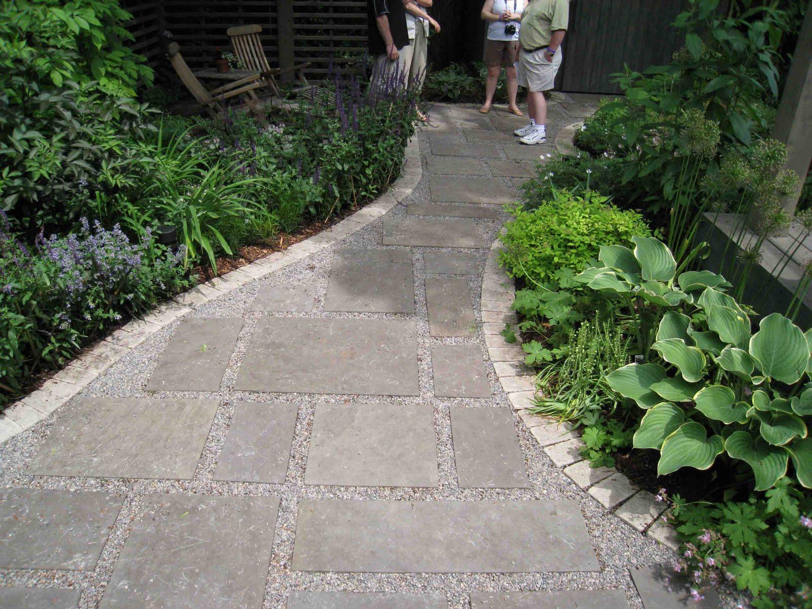 Creed through the garden gate for Walkway garden designs