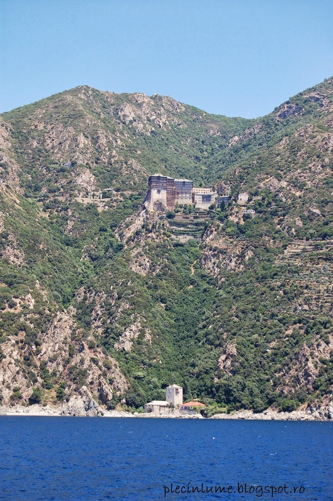 Manastirea Sfantul Simion din Athos