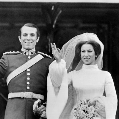 Royal wedding gowns a look back through the years nick for Princess anne wedding dress
