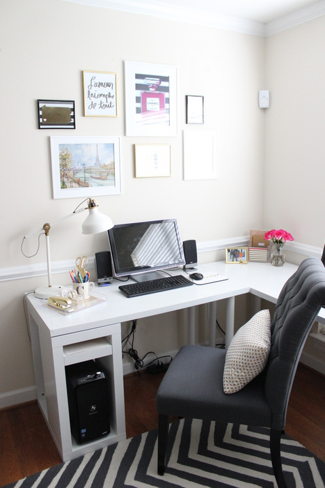 Home Office Reveal Home Sweet Ruby