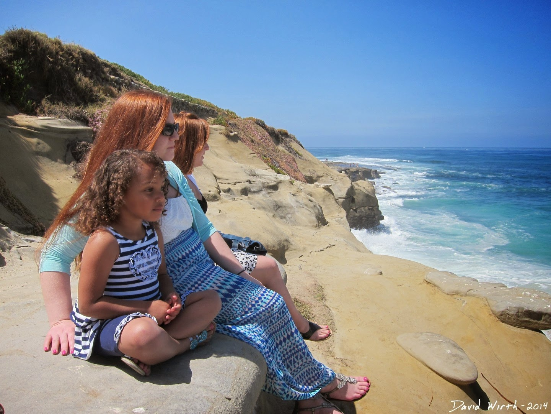 pacific ocean view, la jolla california