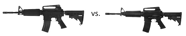 M4compare AirSplat Safety Week   Spotting the Difference