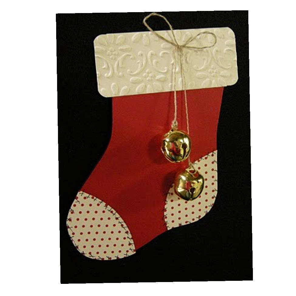 PRODUCT DESCRIPTION: CHRISTMAS STOCKING TEMPLATE