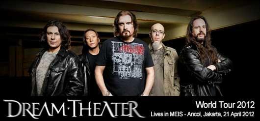 Konser Dream Theater Jakarta