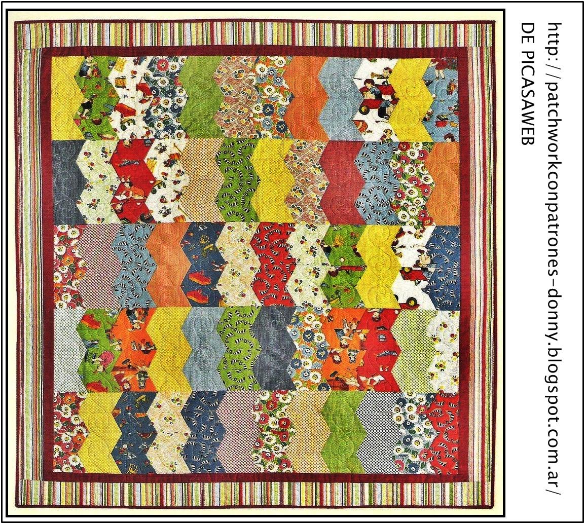 Patchwork solo patrones todo gratis distintas formas - Patchwork en casa patrones ...