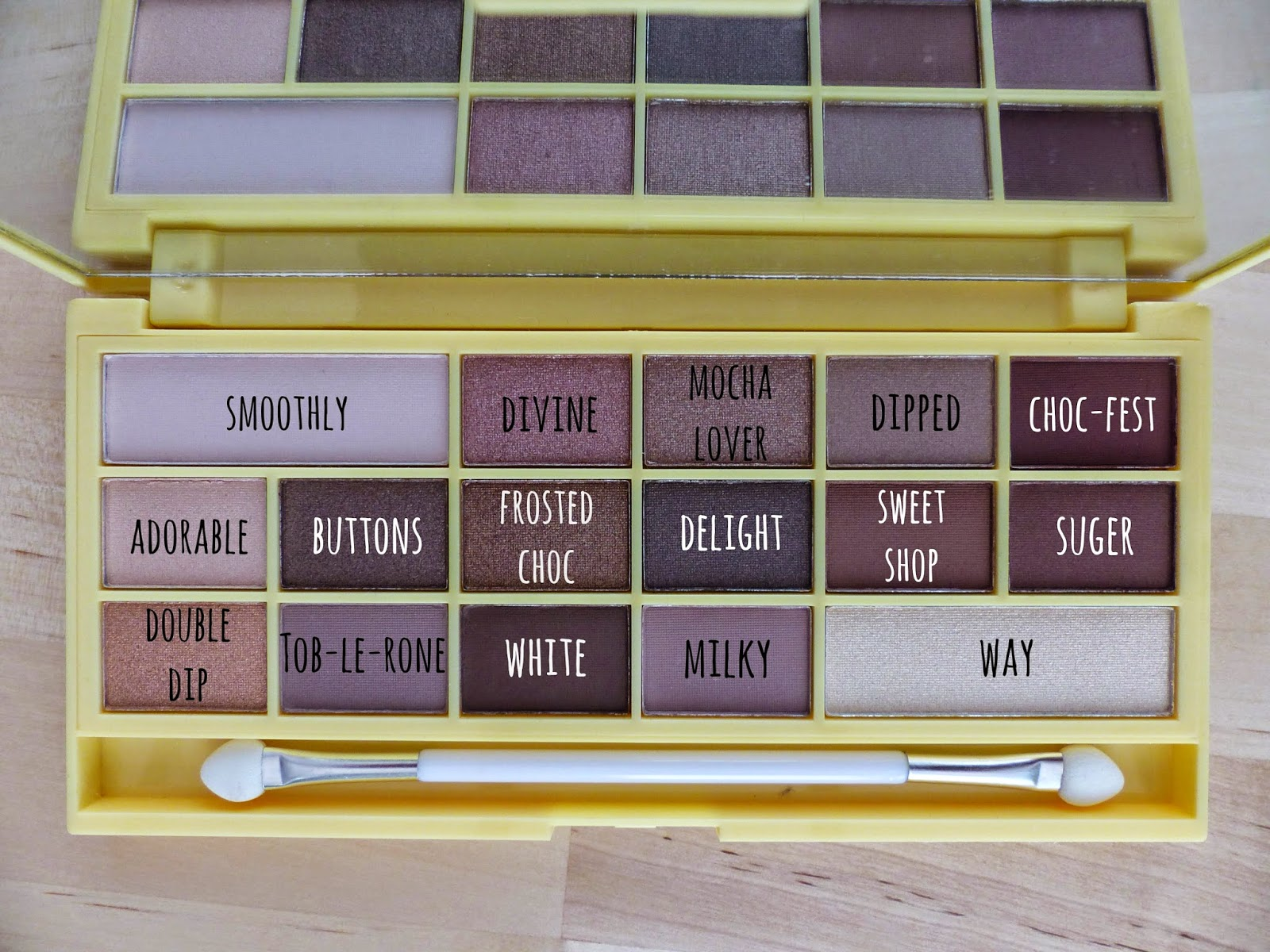 REVIEW & SWATCHES || Makeup Revolution Naked Chocolate Palette ...