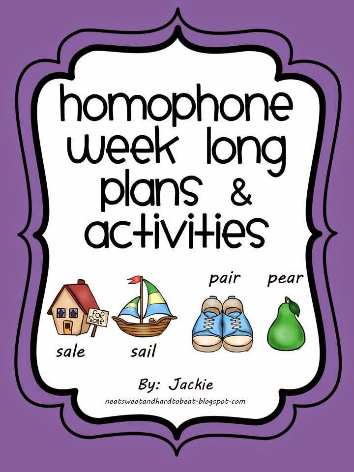 TpT Homophone Pack