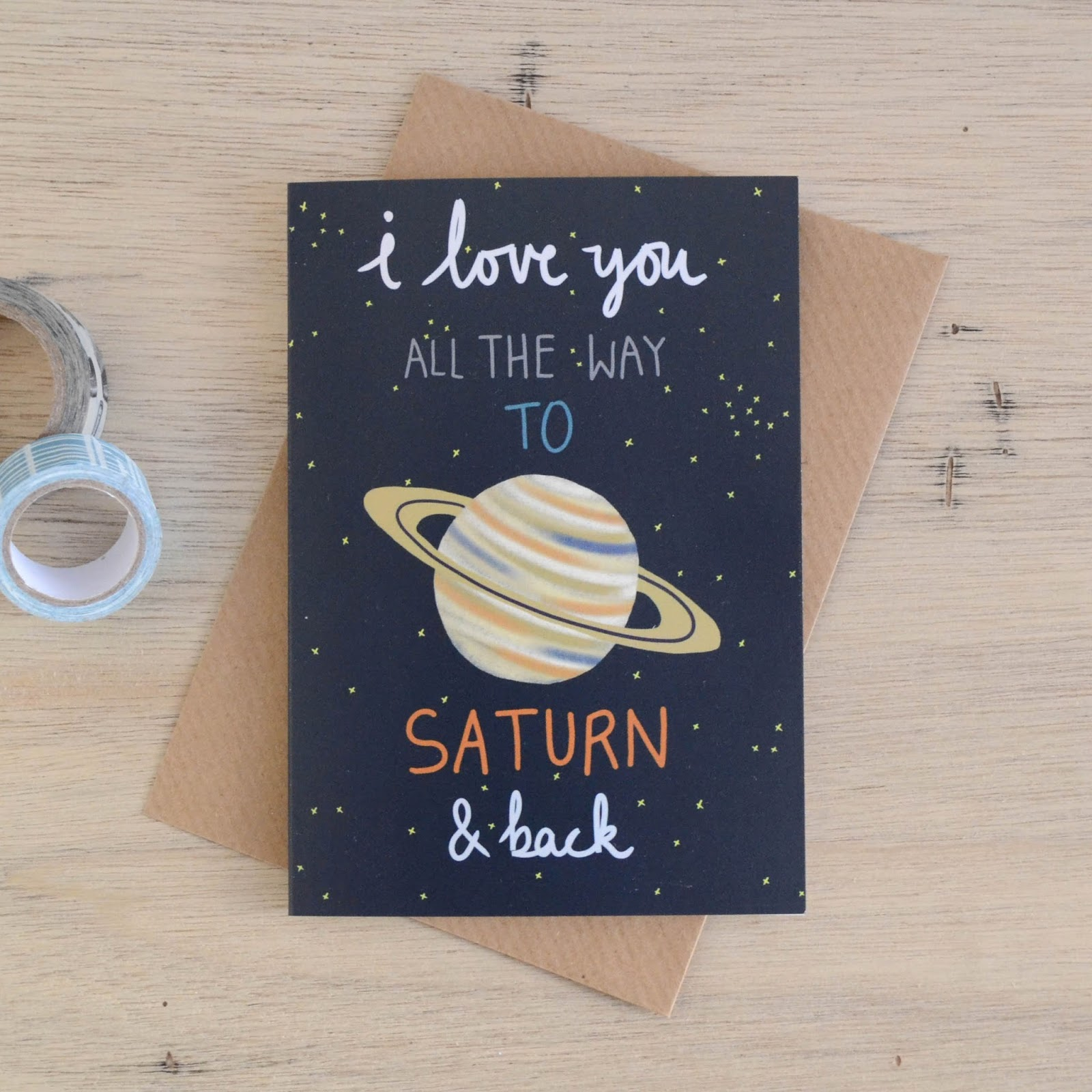 i love you to saturn
