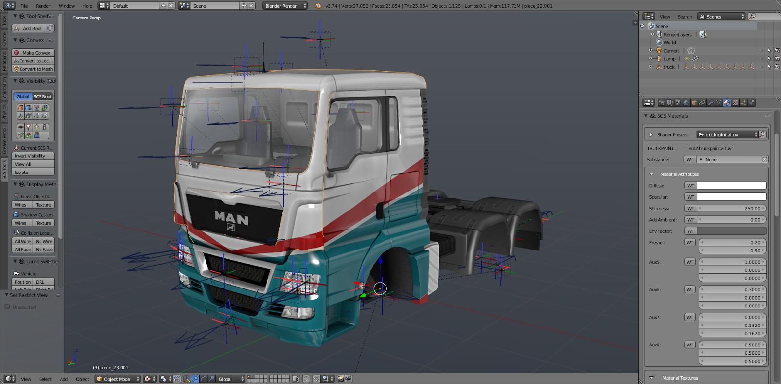 Scs software 39 s blog scs blender tools full truck for Truck design software