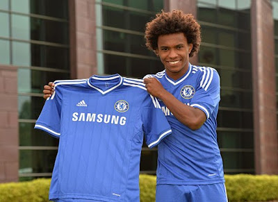 Chelsea Willian Midfielder 2013