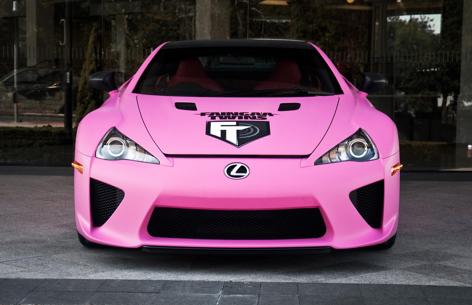 2012 Lexus Lfa Pink 171 Cars