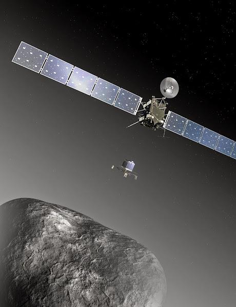 Philae landing on Comet 67P/Churyumov-Gerasimenko - BenjaminMadeira.com