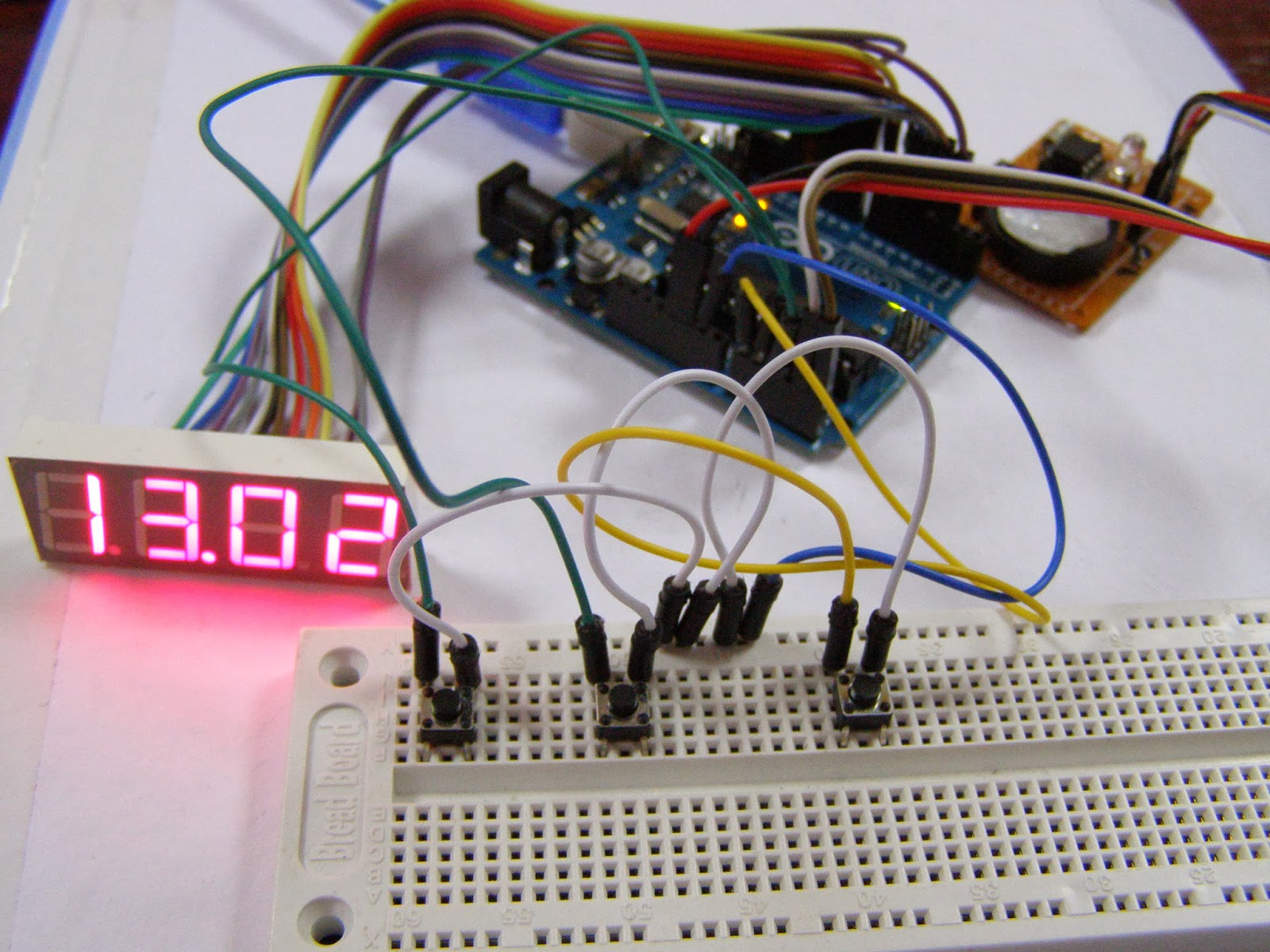 Arduino Tehniq Manual Adjust For Rtc Clock With And 7 Here Http Arduinoinfowikispacescom Popularics Scroll Down A Good Must Use Real Time Like Ds1307 Enthusiasts Hobbylist Exists Some Module But You Can Made