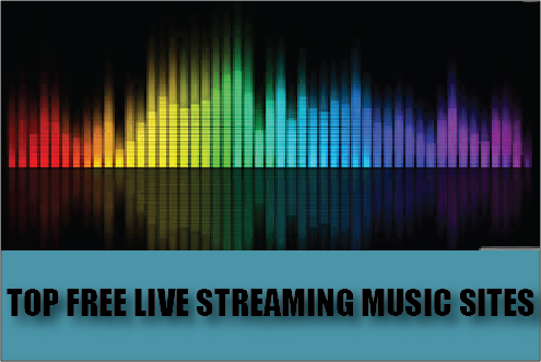 online music streaming sites