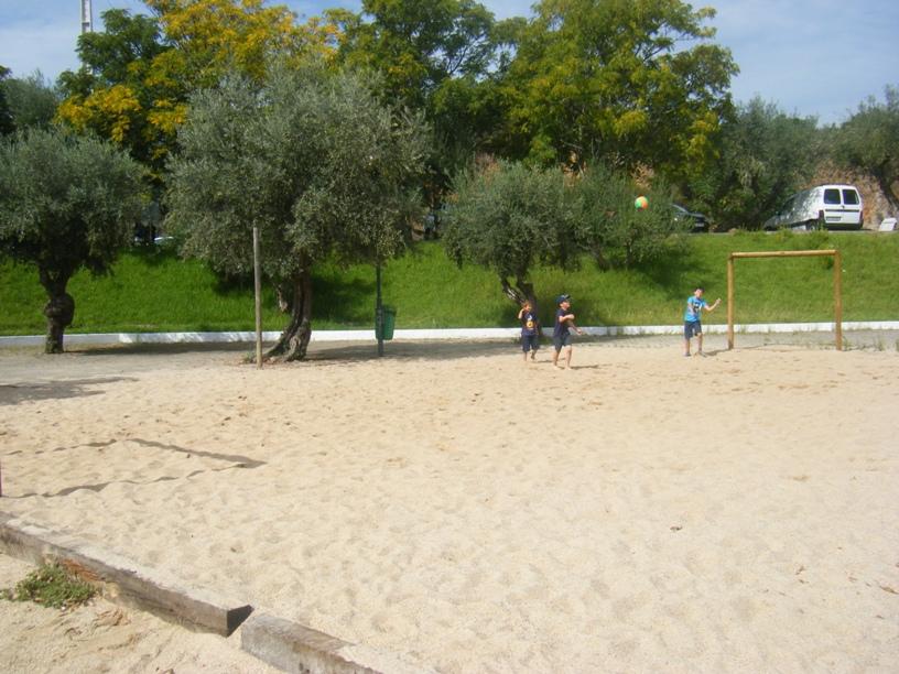 Campo de Futebol de praia