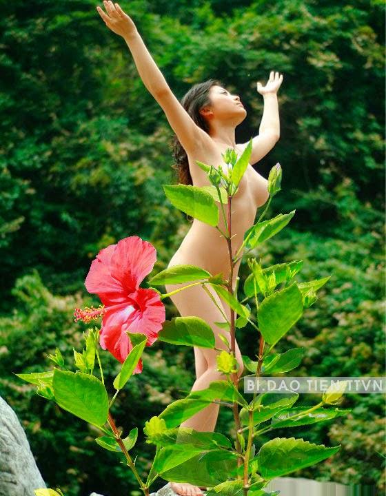 người mẫu chụp ảnh khoả thân, chụp ảnh nude