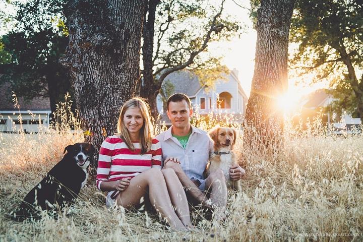 sunset engagement session photos folsom