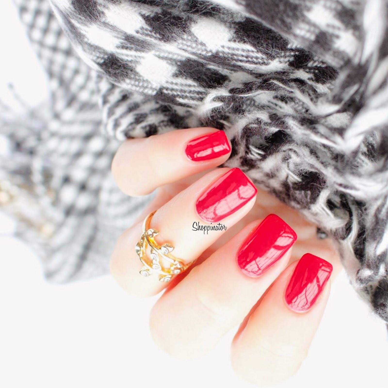 Sally Hansen – 'Aria Red-y?' Meine Weihnachtsnägel – Part 1
