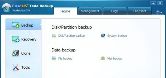 Serial Number EaseUs Todo Backup Workstation 5.8 Free