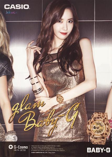 Yoona SNSD Baby-G Glam 2014